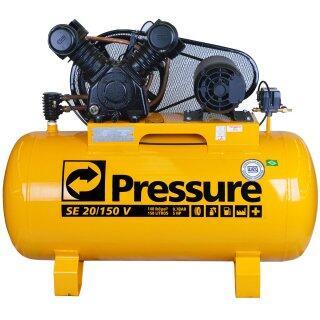 Compressor De Ar 20 Pés 150 Litros Pressure SE 20/150 V - 110/220 Volts