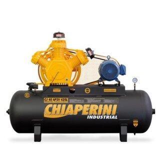 Compressor De Ar 40 Pés 425 Litros Chiaperini - 220/380V Trifásica
