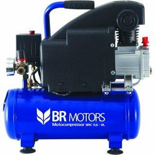 Compressor De Ar 5,6 Pés 8 Litros Br Motors - 220V
