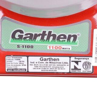 Cortador De Grama Elétrico 1100W S-1100 Garthen - 220V