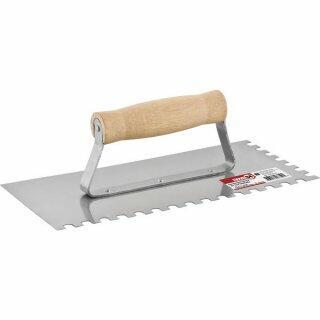 Desempenadeira de aço dentada 255 mm x 120 mm NOVE54