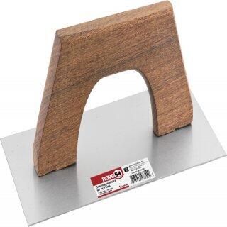 Desempenadeira de aço lisa 250 mm x 120 mm NOVE54