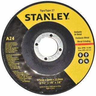 """Esmerilhadeira Angular 1000W 4-1/2"""" STGS1011-BR Stanley–127V"""
