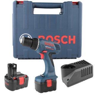 "Furadeira e Parafusadeira a Bateria GSR 14,4-2 Bosch - 3/8"" 14,4 Volts 127 Volts 2 Baterias"