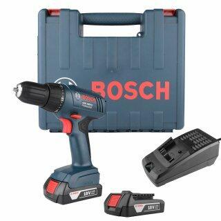 "Furadeira/Parafusadeira 3/8"" A Bateria 18V GSR1800-LI Bosch - 127V"