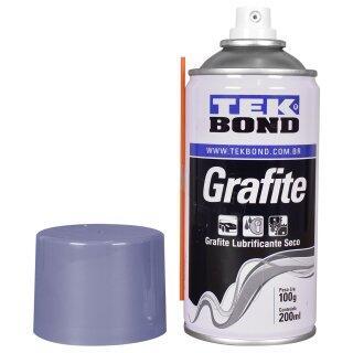Grafite Em Pó Spray 200ML Tekbond