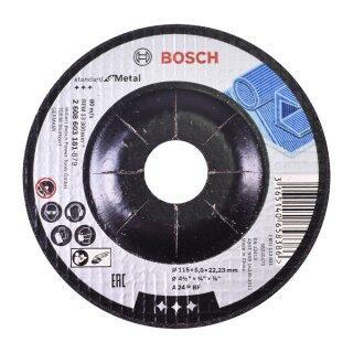 Kit Esmerilhadeira Angular com 10 Discos de Desbaste Bosch
