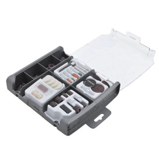Kit Para Mini Retifica Com 110 Peças de Uso Geral 709 Dremel