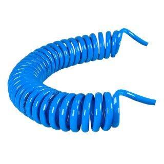 Mangueira Espiral 10mmX7,5m Bumafer e Conexão Macho Conecfit