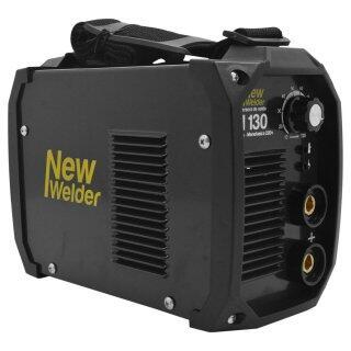 Máquina de Solda Inversora Eletrodo 120A  220V N130 New Welder - Ciclo De Trabalho: 35%