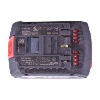 Martelete Perfurador Sds Gbh180-Li + Aspirador de Pó Portátil Gas18V-1 + Carregador com 2 Baterias 18V + Bolsa Ferramentas Bosch