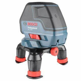 Nível Laser Bosch GLL3-50P + Tripé de Apoio BT150 Bosch
