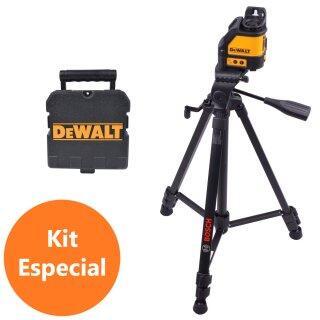 Nível Laser Dewalt DW088K + Tripé de Apoio BT 150 Bosch
