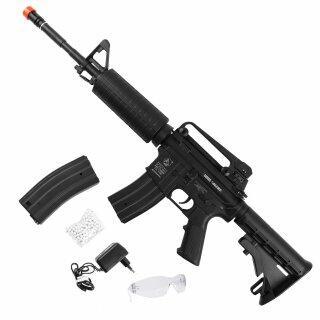 Rifle Elétrico Colt M4a1 GEG 6 Mm Airsoft Cyberx - Bivolt