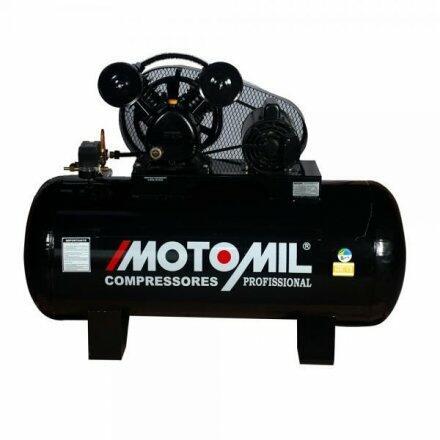Compressor de Ar 10 Pés 175 Litros Motomil Cmv-10/175 - 110/220 Volts