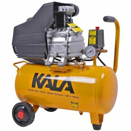 Compressor de Ar 6,6 Pcm 20L 1,5Cv Sgbm9037 Kala - 220V