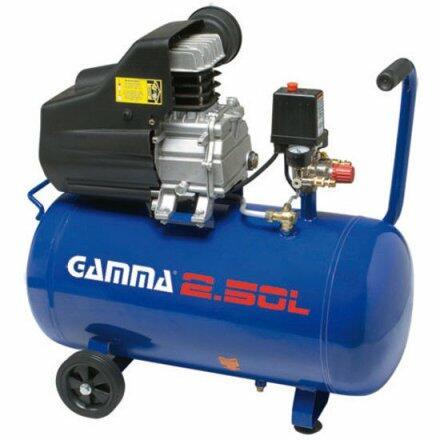 Compressor de Ar 7,5 Pés 50 Litros Gamma G2802Br2 - 220V Monofásica