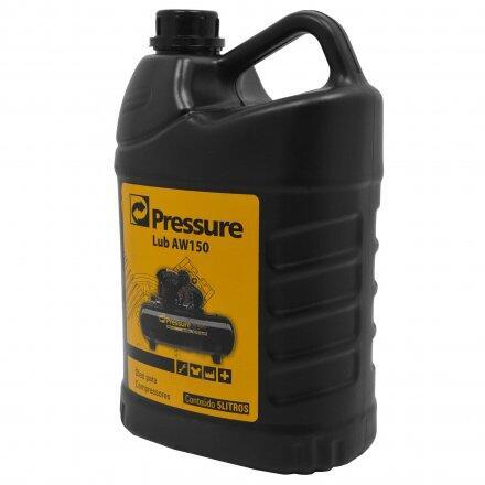 Óleo para Compressores de Ar Tipo Pistão 5 Litros Lub Aw150 Pressure
