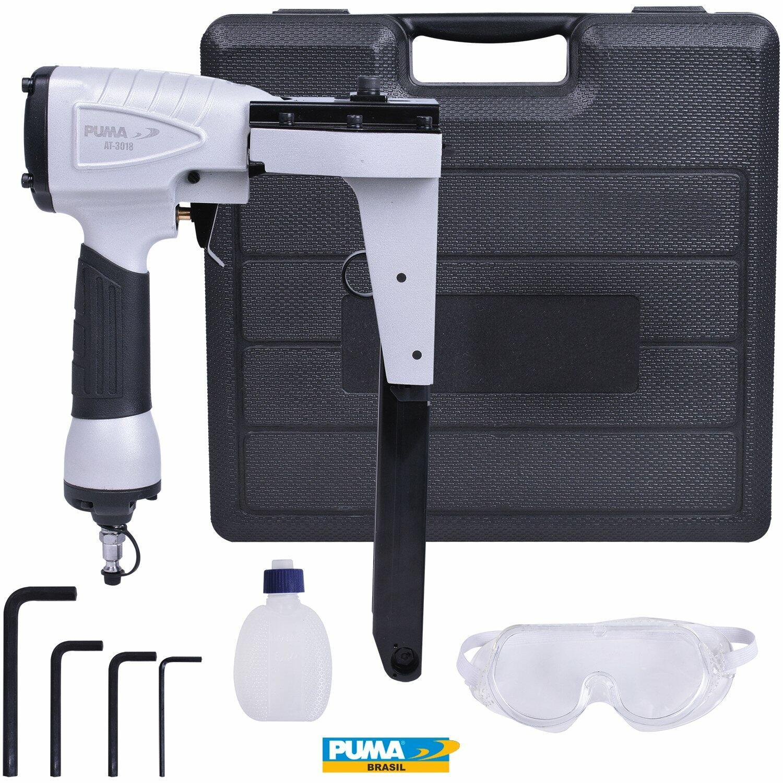 Grampeador Pneumático para Caixa de Papelão At-3018 Puma