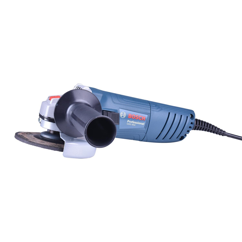 """Esmerilhadeira Angular 4"""" 850W GWS 850 Bosch – 127 V"""