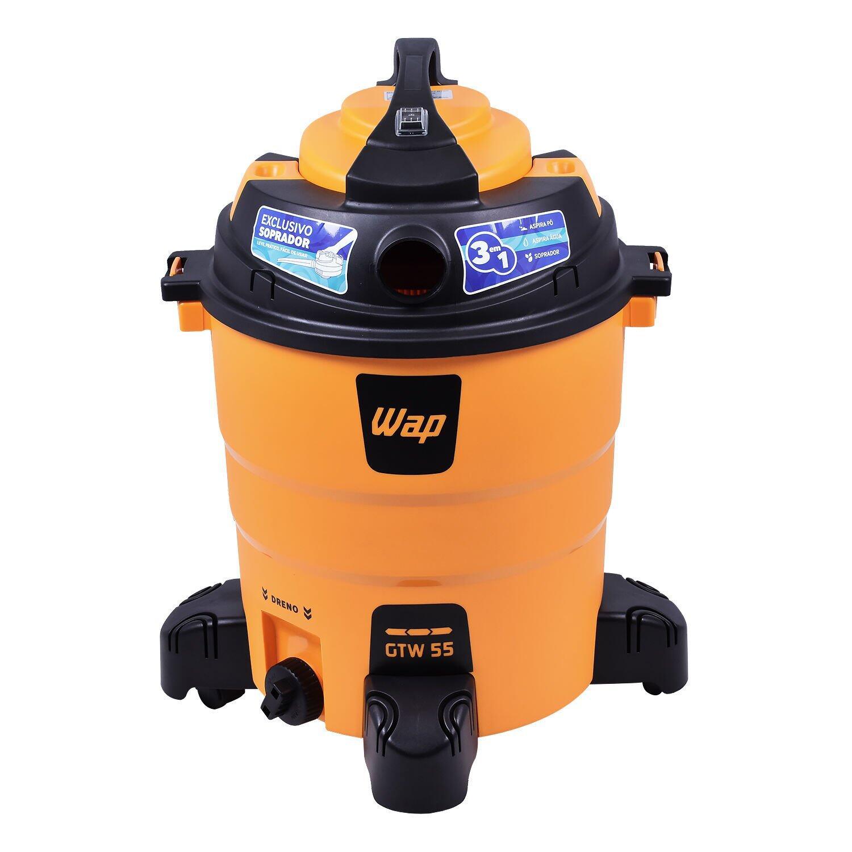Aspirador de Pó e Água 1600W 55 Litros GTW55 Wap – 127V