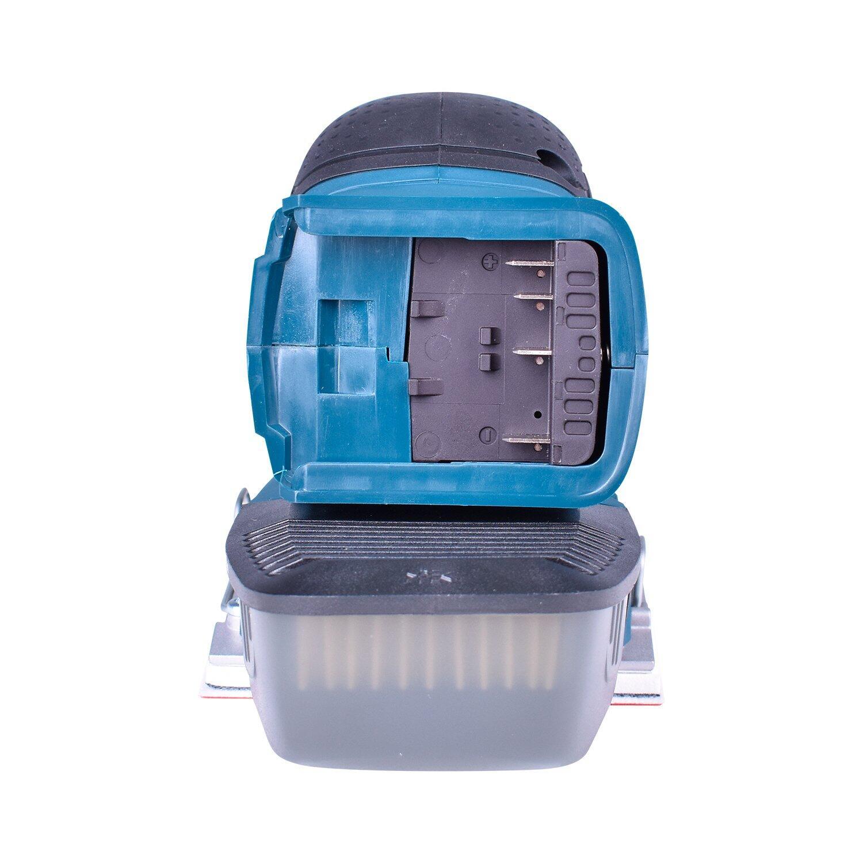 Aspirador de Pó Portátil Gas18V-1 + Lixadeira Orbital Gss18V-10 + Carregador com 2 Baterias 18V + Bolsa Para Ferramentas Bosch