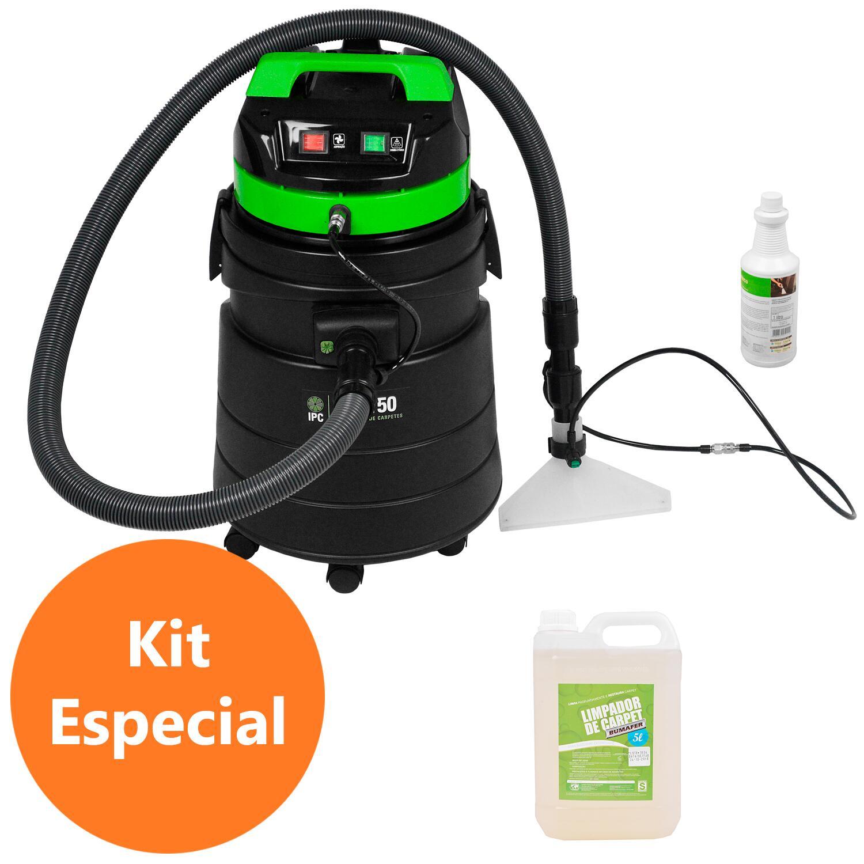 Aspirador Extratora 50l IPC Soteco e Detergente Bumafer 220V