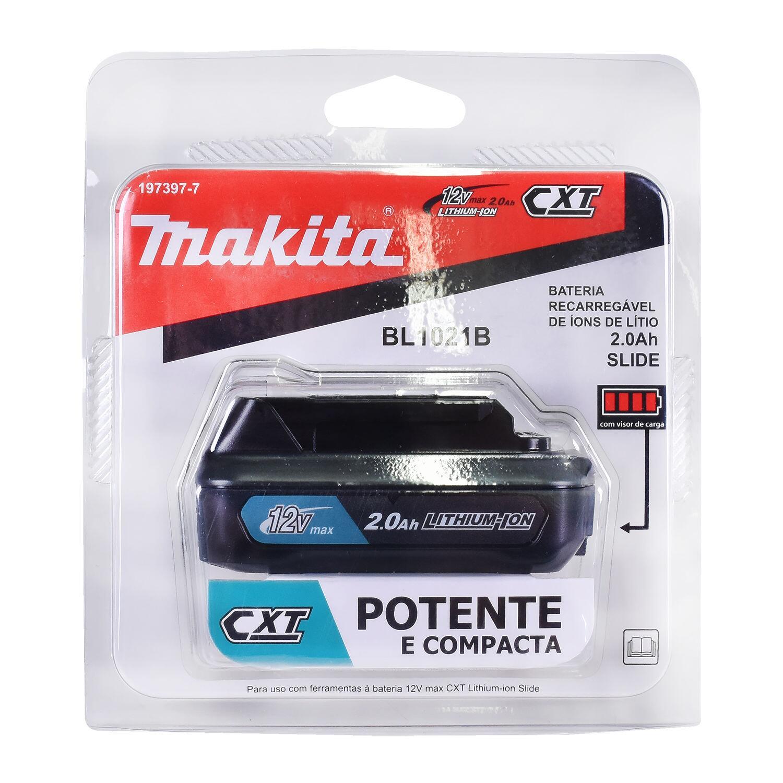 Bateria Ion de Lítio 12V 2,0AH BL1021B Makita
