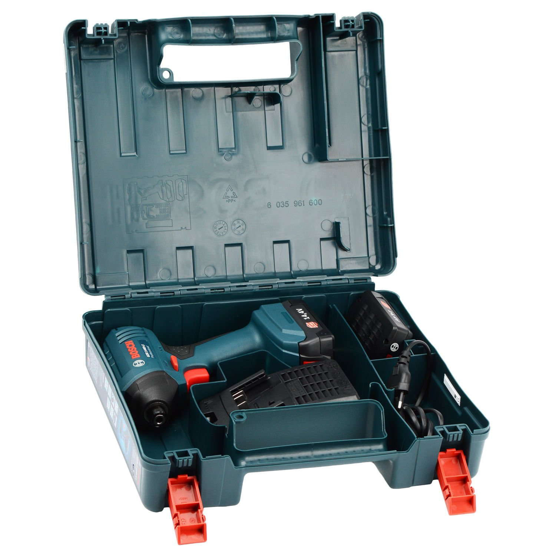 """Chave de Impacto A Bateria 14,4V 1/4"""" GDR1440-LI Bosch - 127V"""