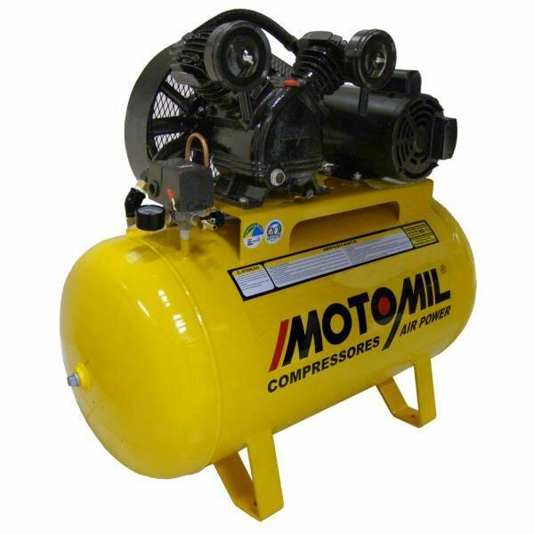Compressor de Ar 10 Pés 150 Litros Motomil CMV-10PL/150 - 110/220 Volts