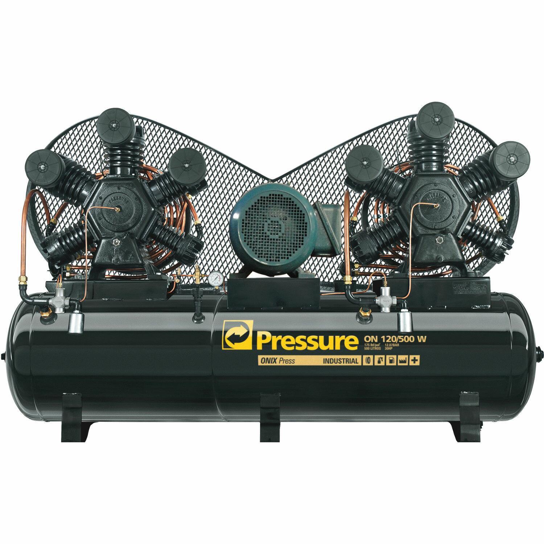 Compressor De Ar 120 Pés 500 Litros Pressure Ônix 120/500 W - 220/380V Trifásico
