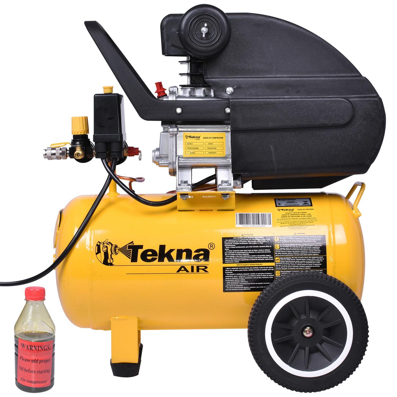 Compressor de Ar 2,0 HP e 24 L CP8550-2C Tekna