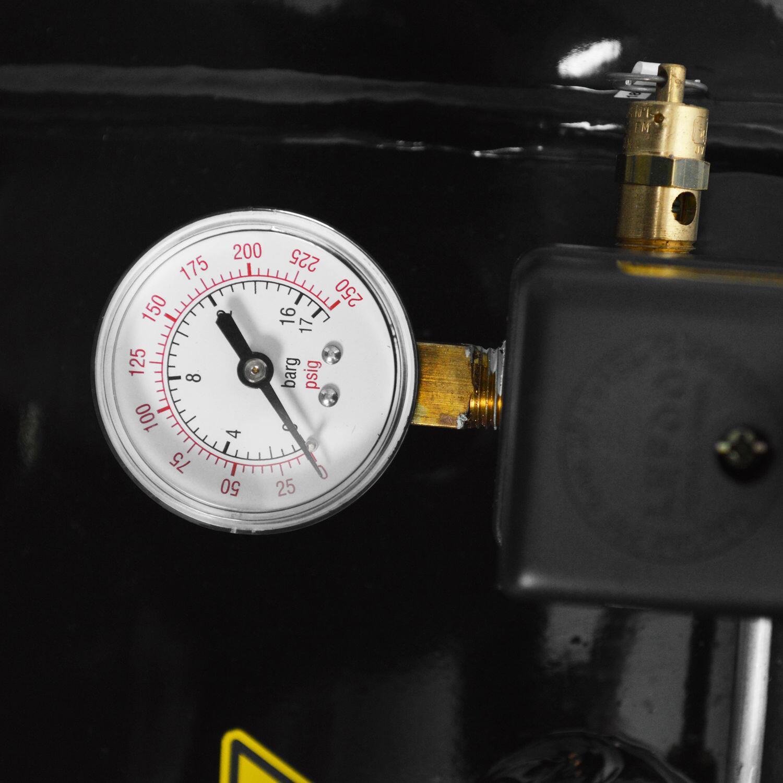 Compressor De Ar 20 Pés 200L Schulz Bravo - 220/380V Trif