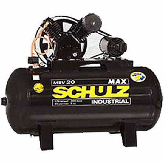 Compressor De Ar 20 Pés 300 Litros Schulz Max - 220/380V Trifásica