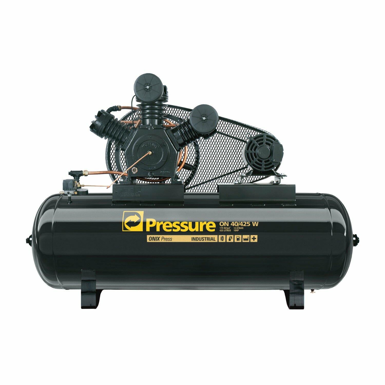 Compressor De Ar 40 Pés 425 Litros Pressure Ônix 40/425 W - 380/660V Trifásica
