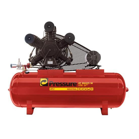 Compressor De Ar 80 Pés 425 Litros Pressure ATG2 80/425 W - 220/380V Trifásica