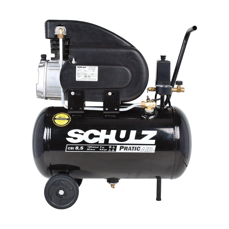 Compressor De Ar 8,2 Pés Schulz Pratic Air CSA8,2/25 - 127V