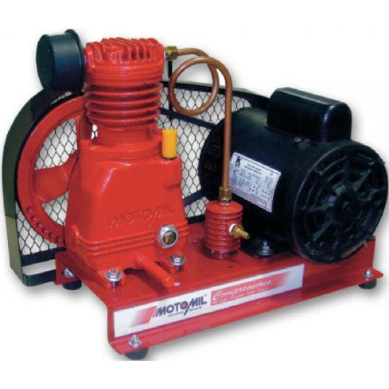 Compressor De Ar Direto 3 Pés 1HP Motomil MBI-3,0/AD - 110/220 Volts