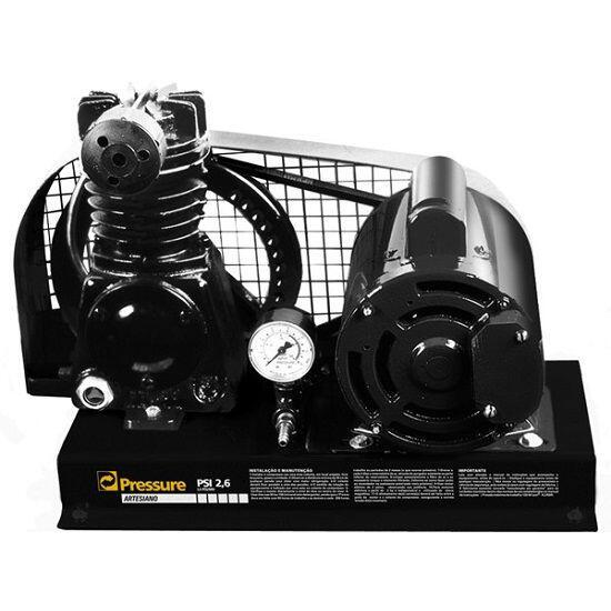Compressor De Ar Para Poço Artesiano 1/2HP Pressure ART2,6I - 110/220V