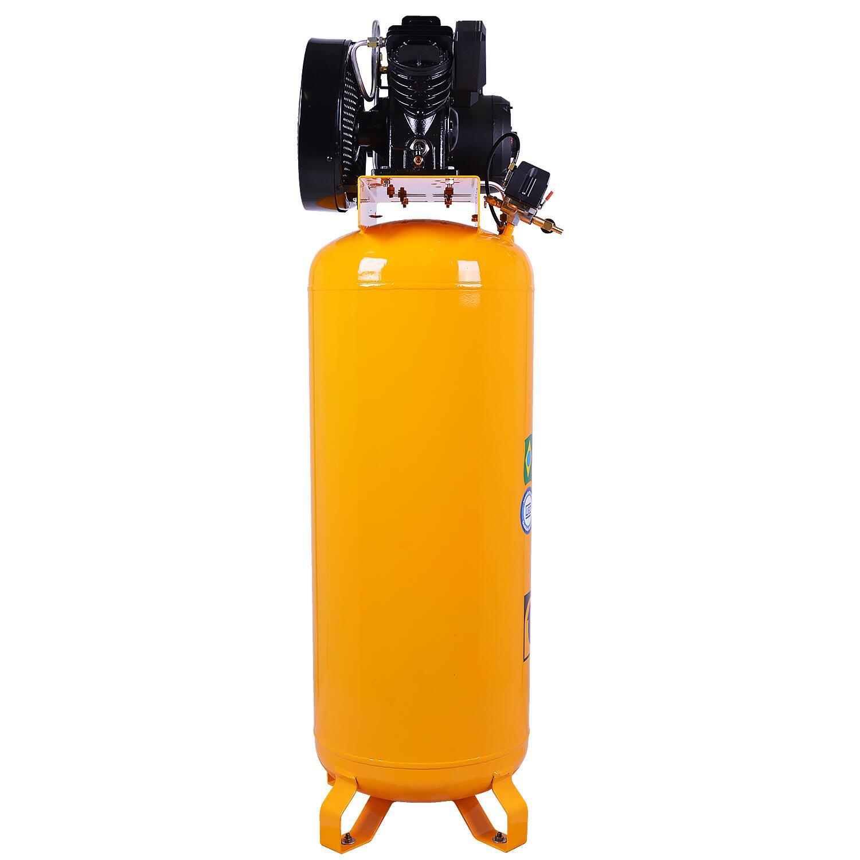 Compressor de Ar Vertical 100L 10PCM SE10100VT-RV Pressure 220/380V Trif.
