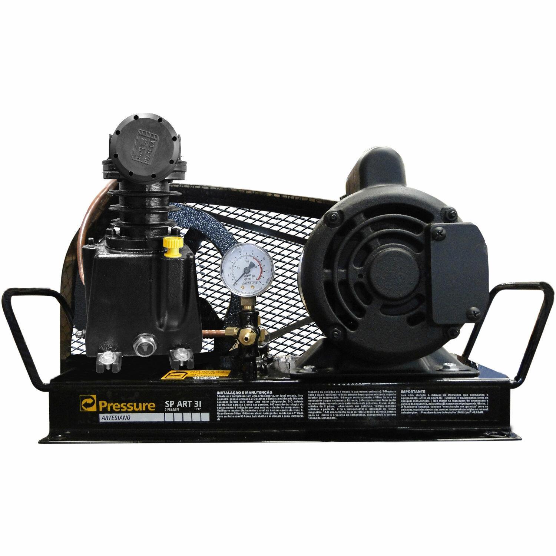 Compressor Para Poço Artesiano 3PCM 110/220V SPART3IM Pressure
