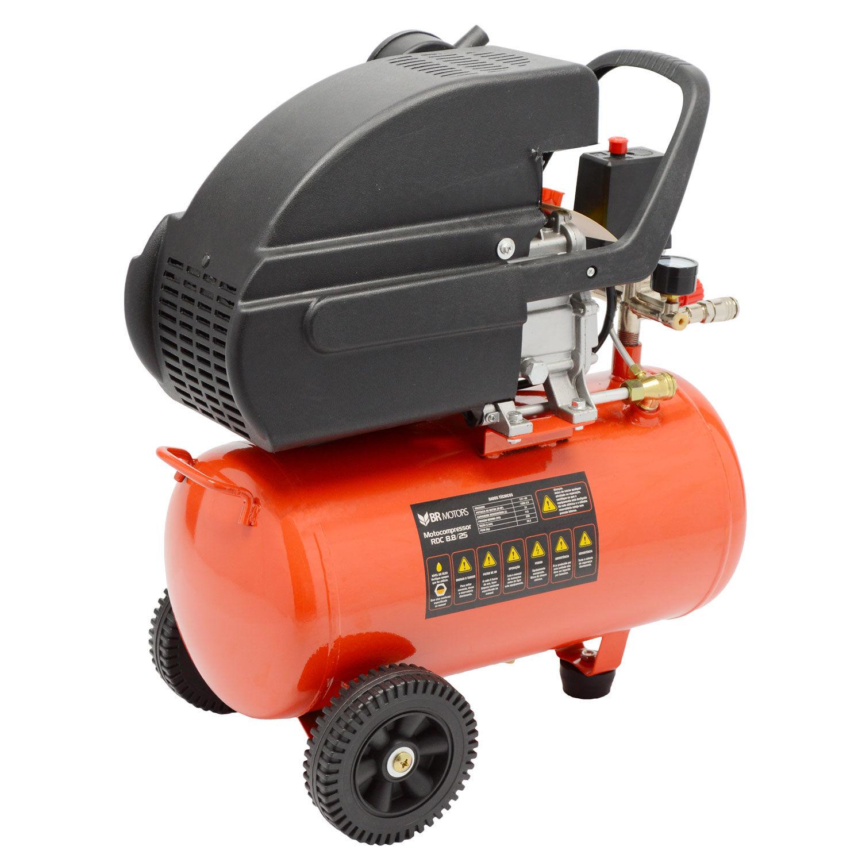 Compressor RDC 8.8 PCM 24 Litros Com Kit Br Motors - 220V