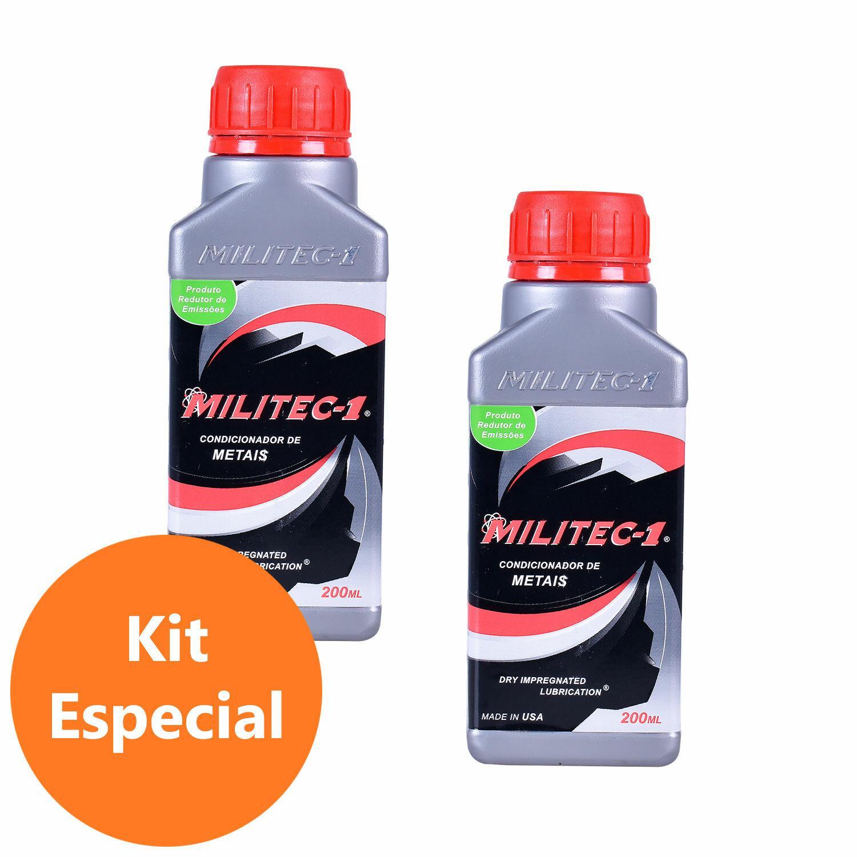 Conjunto com 2 Óleos Lubrificantes para Metais Militec-1