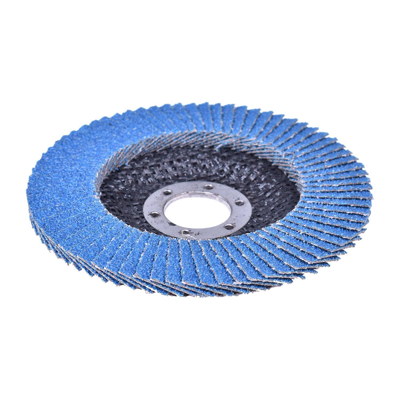 Lixas Disco Flap com 10 Peças 115 × 22 mm G40 Bumafer