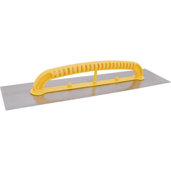 Desempenadeira de aço, lisa, 120 mm x 480 mm, VONDER