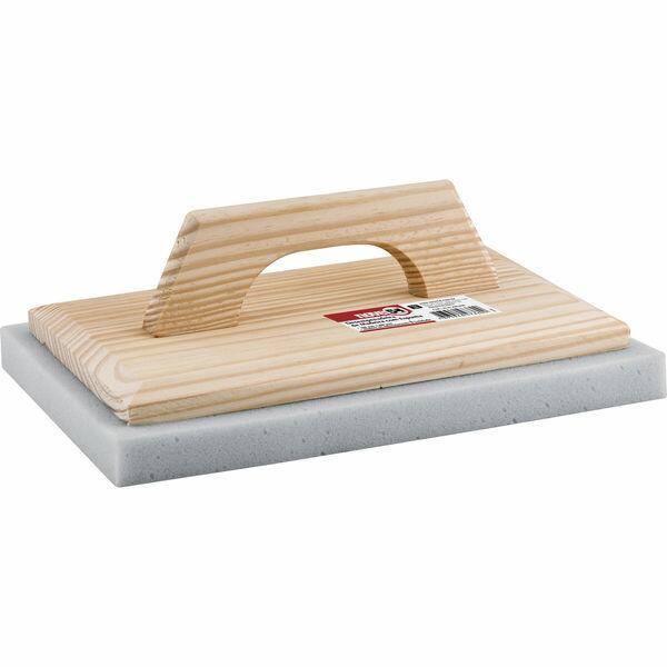 Desempenadeira de madeira com espuma 200 mm x 300 mm NOVE54