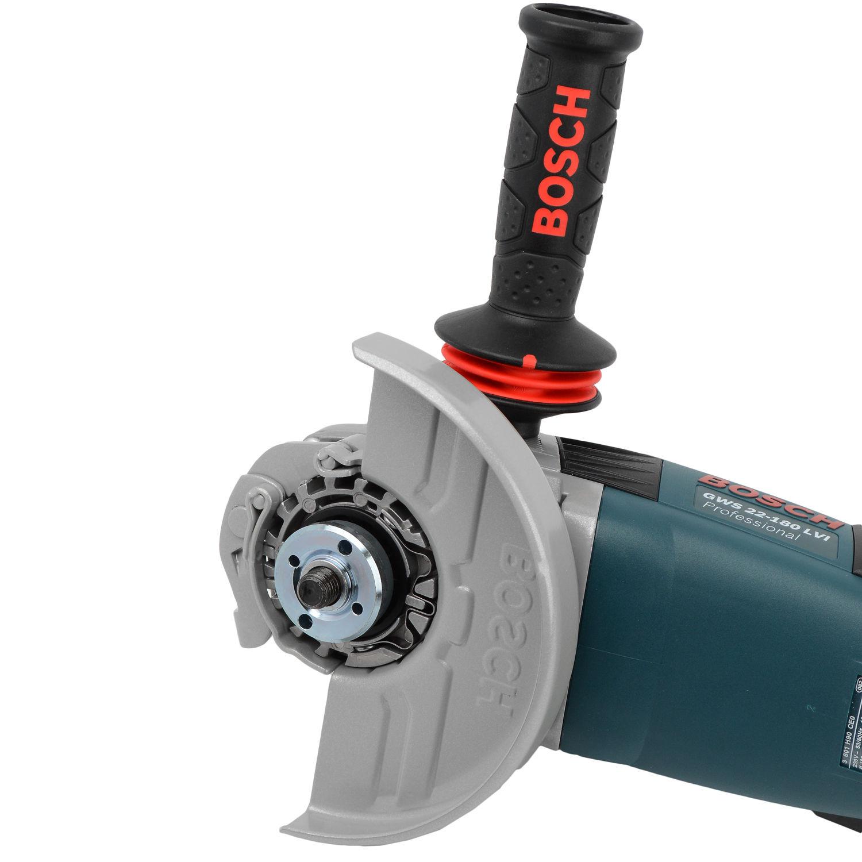 "Esmerilhadeira Angular 2200W Disco 7"" GWS22-180LVI Bosch - 220V"
