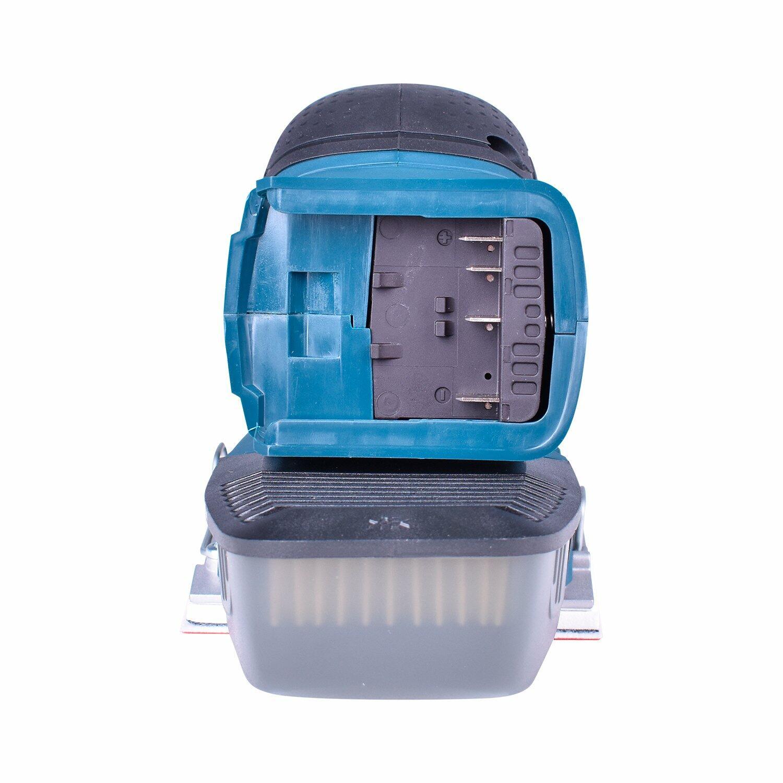 """Esmerilhadeira Angular 5"""" Gws18V-Li + Lixadeira Orbital Gss18V-10 + Carregador com 2 Baterias 18V + Bolsa Para Ferramentas Bosch"""