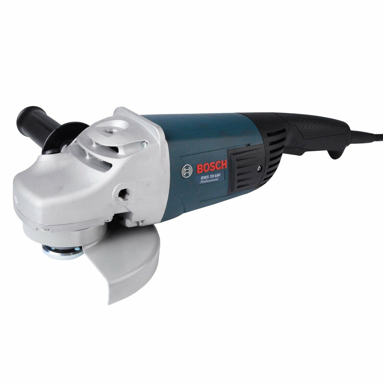 "Esmerilhadeira Angular 7"" 2000W GWS 20-180 Bosch - 220 Volts"