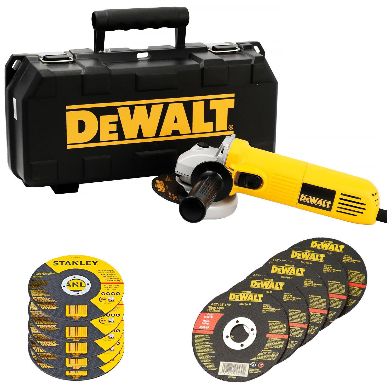 Esmerilhadeira Angular 700W Dwe4010KB2 Dewalt com 5 Discos 220V